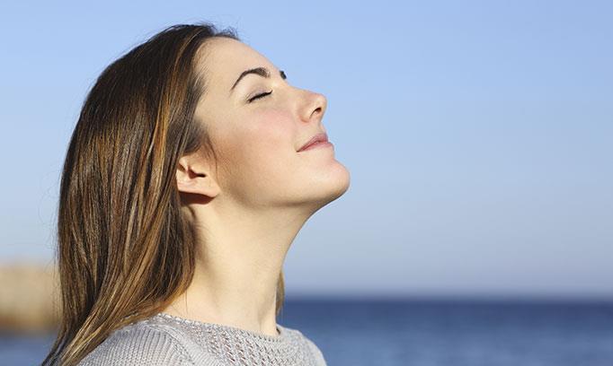 کنترل تنفس و آرامش